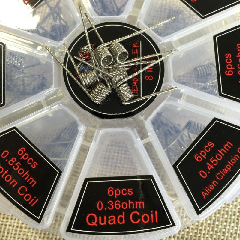 Quad coil 0.36ohm 1шт.