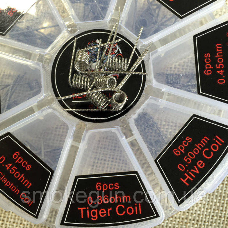 Tiger coil 0.36ohm 1шт.