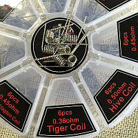 Tiger coil 0.36ohm 1шт.