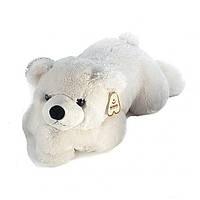 Мякгая Игрушка Мишка белый лежачий 70 см 31CN7A Aurora