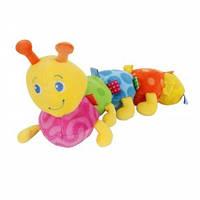 Мягкая игрушка Bright Stars Разноцветная гусеница 25027