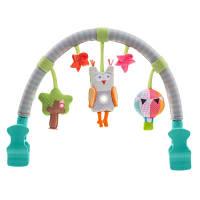 Музыкальная дуга для коляски ЛЕСНАЯ СОВА звук свет Taf Toys 11875