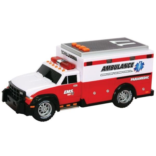 Спасательная техника Скорая помощь со светом и звуком 30 см (34563)