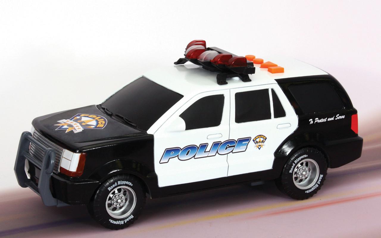 Спасательная техника Полицейский внедорожник со светом и звуком 13 см (34516)