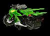 Мотоцикл Toy State Kawasaki KLX 140 Moto-Cross Bike со светом и звуком 25 см Зеленый 33412