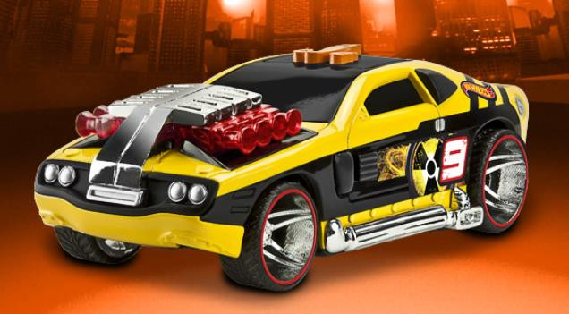 Автомобиль Toy State Hollowback со светом и звуком 16 см 90501