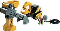 Игровой набор-конструктор Toy State Machine Maker Экскаватор и Подъемник-конвейер 80913