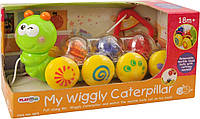 Развивающая игрушка Веселая гусеница PlayGo 2875
