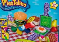 Набор для творчества Plastelino NOR2854 Гамбургер