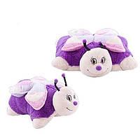 Декоративная подушка Pillow Pets Розовая бабочка DP02273