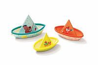 Lilliputiens - Игрушка для ванной: 3 маленьких кораблика