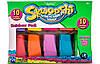 Набор для лепки Skwooshi Радуга 10 упаковок 30012