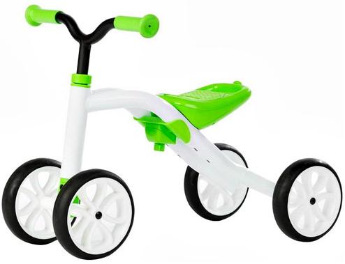 Первый велобег Chillafish Quadie зеленый CPQD01LIM