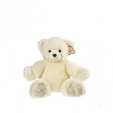 Белый медвежонок Обними меня 30 см AURORA 61281C