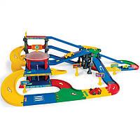 Игровой набор Паркинг с дорогой Wader 53070