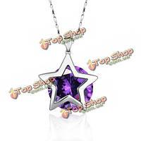 Кулон звезда серебро 925