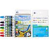 Восковые карандаши 8 цветов OIL PASTELS «С»