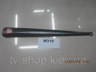 Лопатка для взуття метал,45 см
