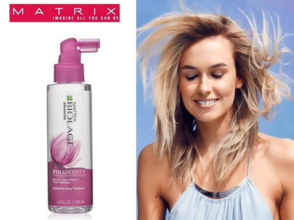 Спрей для уплотнения тонких волос