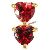Хрустальные женщины пирсинга украшения сердце любовь кольцо пупка живот
