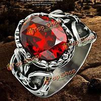 316l панк крест циркон марочные мужчины женщины палец кольцо ювелирные изделия