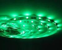 Светодиодная лента smd2835 ІР65 зеленая 60led герметичная