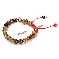 Мужчины браслет дракона агата кожи драгоценный камень Тибетом буддийские ювелирных изделий шариков