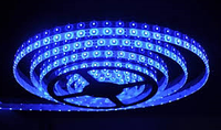 Светодиодная лента smd2835 ІР65 синяя 60led герметичная