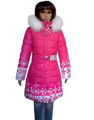 Пальто для девочки зима, фото 2