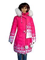 Пальто для девочки зима
