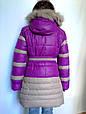 Зимові пальто для дівчинки, фото 4