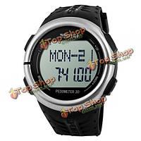 1058 вахта SKMEI 50м водонепроницаемый спортивные часы сердечного ритма шагомер