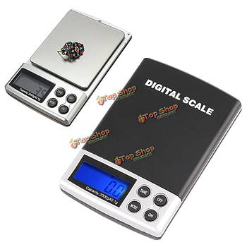 2000г х 0.1г электронные весы грамм цифровой карман ювелирные весы