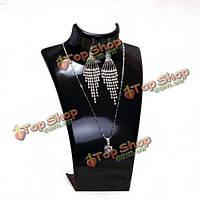 Акриловые бюст ожерелье серьги отображения стоять держатель манекен ювелирные изделия