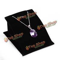 Бархат ожерелье цепь дисплей ювелирных изделий стенд держатель витрина