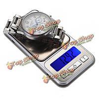 500г/0.1g Mini карманные ювелирные изделия электронный баланс весы