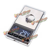 200г х 0.01г Цифровой портативный Mini карманные весы ювелирные изделия баланс веса