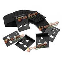 100шт ювелирная упаковка пластиковые стержни серьги держатель дисплея карт