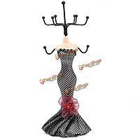 Леди манекен платье кольцо ювелирных изделий ожерелья держатель стойки дисплея