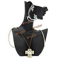 Смолы ожерелье серьги браслет ювелирных изделий стенд витрина стойки