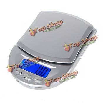 500 х 0.1г цифровые ювелирных изделий с бриллиантами карманный электронный баланс веса ЖК масштаб