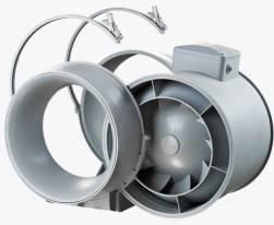 Конструкция канального вентилятора смешанного типа Вентс ТТ