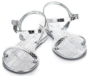 Женские босоножки Eureka silver
