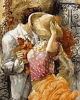 Картина по номерам Поцелуй на крыльце худ Лена Сотскова Turbo VP-377