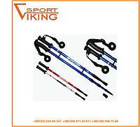 Палки для скандинавской ходьбы 110/135 см серые. Доставка бесплатно!
