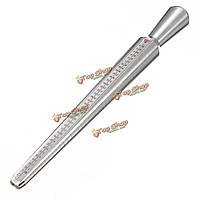 Металлическое кольцо мера сайзер калибровочные оправки палец калибровка ручки