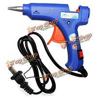 SD э 20Вт Голубой мини-Отопление горячего расплава клея ремесел ремонта инструментов