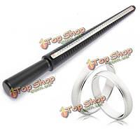 Черный пластиковый палки палец колеи кольцо sizer мера ювелирных инструмент Оборудование калибровочное