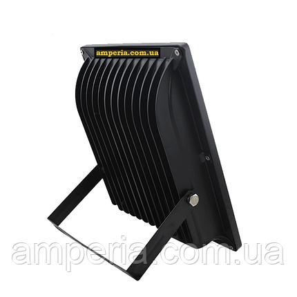 NIGAS Прожектор светодиодный LED-NGS-10 PREMIUM 6000K 50W(вт), 5000 lm тонкий корпус (slim), фото 2