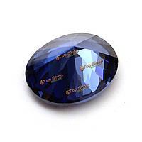4.52ct 9x11мм овальный синий сапфир неотапливаемых свободные кольцо Gemstone ожерелье поделки